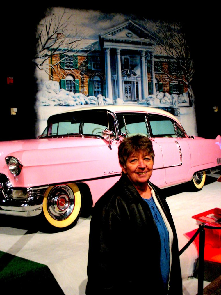 graceland mom pink cadillac