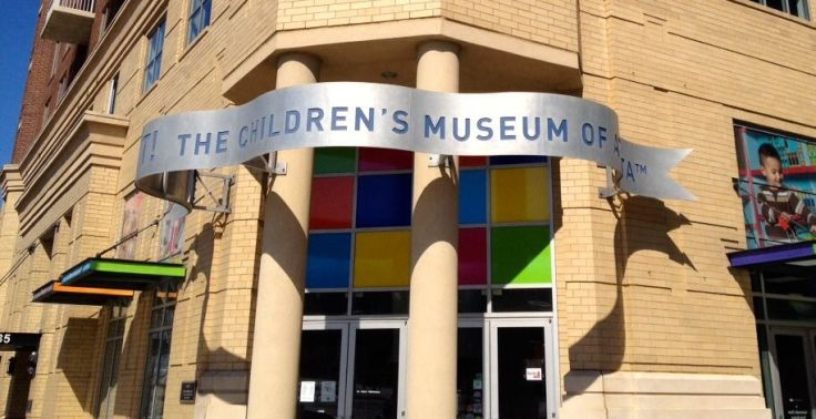 childrens museum entrance